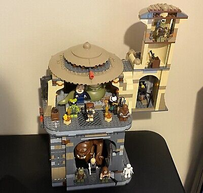 Lego Star Wars 9516 Jabba's Palace & 75005 Rancor Pit All Minifigures Set of 2