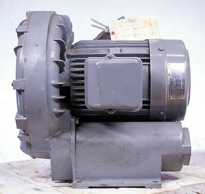 Fuji Blower Vfc804a-7w 3 Phase 230460 Vac 2 Pole 5060 Hz 8.7-10 Hp Motor