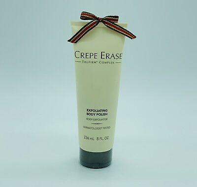 - CREPE ERASE TRUFIRM Exfoliating Body Polish Anti Aging Scrub Improves Skin 8 Oz