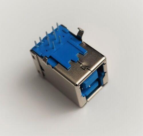 USB 3.0 Type B Female 9-Pin DIP printer port B-shaped Socket Connector
