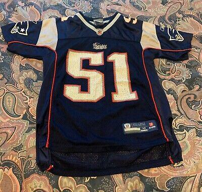 NFL Reebok New England Patriots Mayo Jersey Size Youth M Mayo Youth Jersey