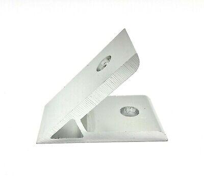 45 Degree Aluminum Angle Bracket 2 Hole T Slot Aluminum 15 40 Series 8020 Eqv.