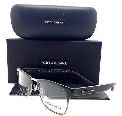 f2e277c8a989 Dolce Gabbana Green Eyeglasses DG 1274 1279 53mm 18mm 140mm Gunmetal