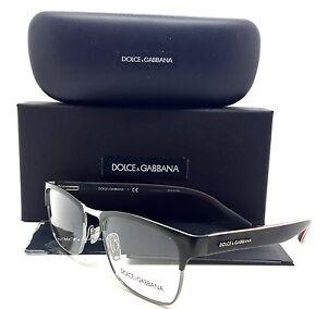 Dolce Gabbana Green Eyeglasses DG 1274 1279 53mm Gunmetal