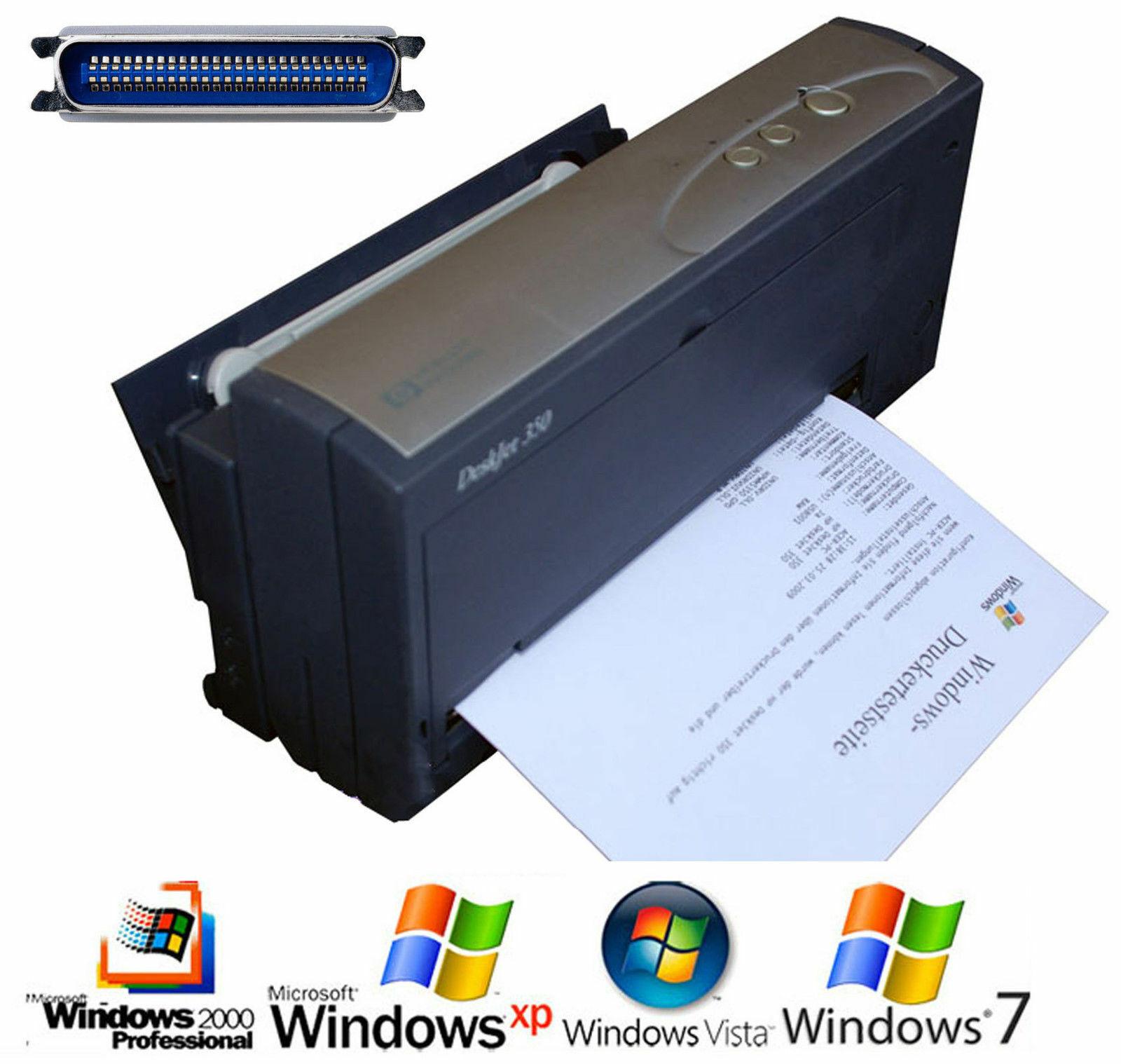 Petit portable mobile hp deskjet 350c d'imprimante dos windows 3.1 95 98 xp