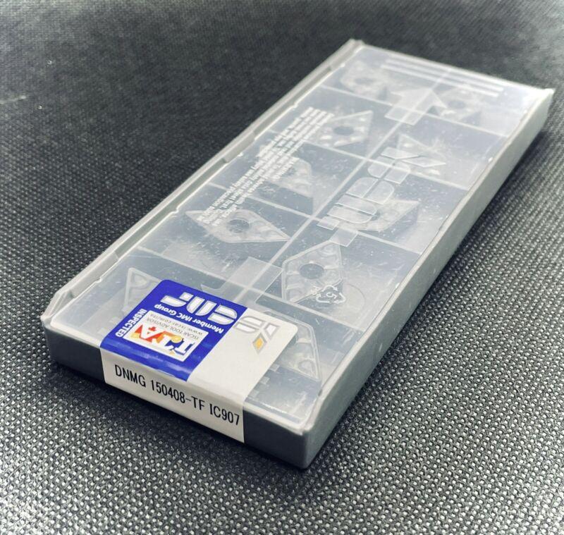 ISCAR DNMG 432-TF IC907 DNMG150408-TF IC907 Carbide Inserts 10 PCS Free Shipping