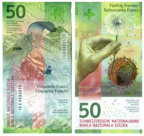 Switzerland - Swiss 50 Francs 2015 - P 77b - UNC