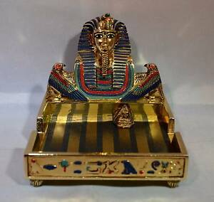 Egyptian Paper Holder Franklin Mint Findon Charles Sturt Area Preview