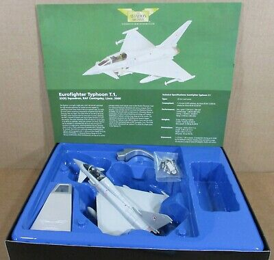 Corgi Eurofighter Typhoon Aircraft Royal Air Force Coningsby Lincs Die-Cast 1:72