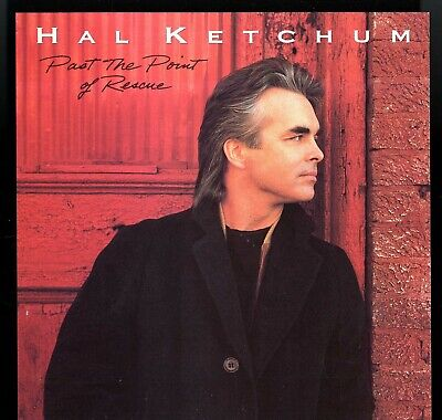 HAL KETCHUM  - Past The Point Of Rescue -  2 Sided PROMO POSTER FLAT  12 X 12  (Hal Ketchum Past The Point Of Rescue)