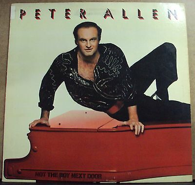 PETER ALLEN Not The Boy Next Door LP OOP early-80's disco
