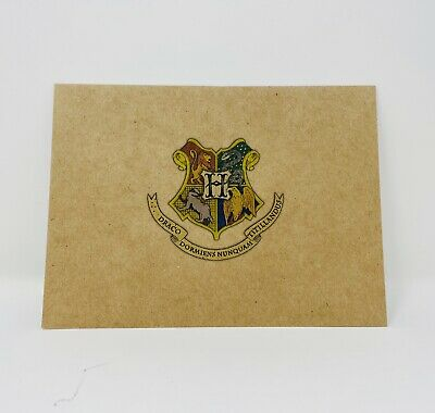 8 Harry Potter Hogwarts House Insignia Envelopes Gryffindor Slytherin Ravenclaw