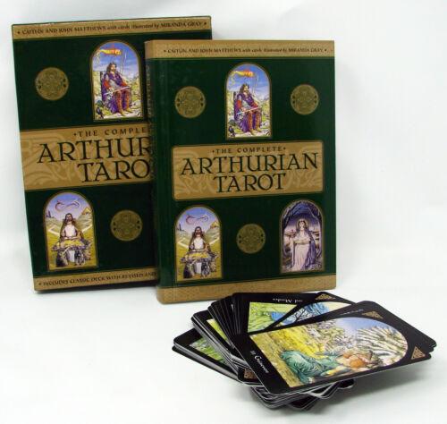 The Complete Arthurian Tarot - Cards & Guide Book Set Matthews Gray