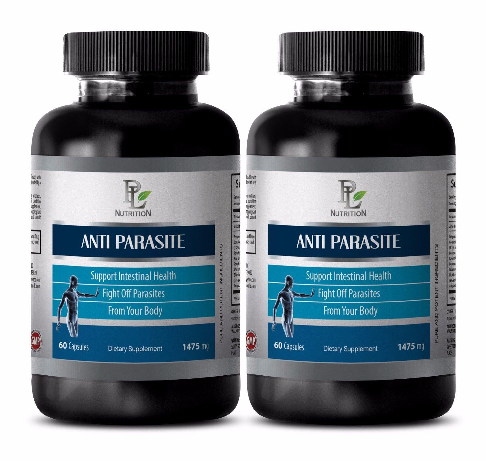 Parasite Killer- ANTI-PARASITE Complex -Antibacterial & antiparasitic 2 Bottles