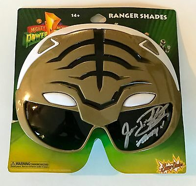 Jason David Frank White Power Ranger Signed Sunglasses Ranger Shades PSA/DNA COA - Power Ranger Sunglasses