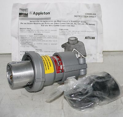Appleton Acp3023bc 30 Amp Powertite Plug