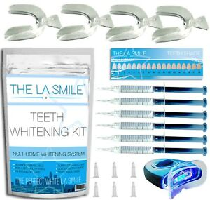 HOME TEETH WHITENING KIT TOOTH WHITENER BLEACHING LASER STRONG DENTAL GEL