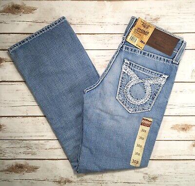 Big Star Jeans Mid Rise Pioneer Distressed Bootcut 30 31 32 33 34 36 38 40 42 Big Star Bootcut Jeans
