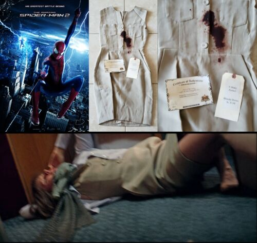 The Amazing Spider-Man 2 - Mary Parker's Distressed Dress w/COA