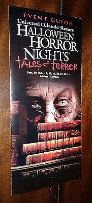 Halloween Horror nights16 through 26 event guide maps 12 - Halloween Horror Nights Event Map