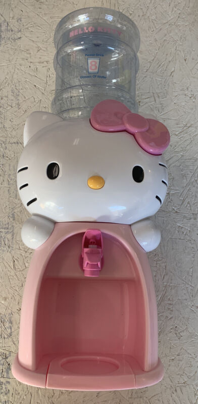 Hello Kitty Toys-R-us  Exclusive Water Dispenser Cooler Collectible Room Decor