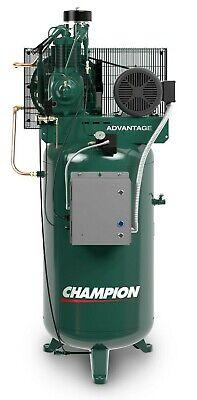 Champion Vr5-8-1p 230v R-series Air Compressor 5 Hp 1 Phase 80 Gallon Usa Made