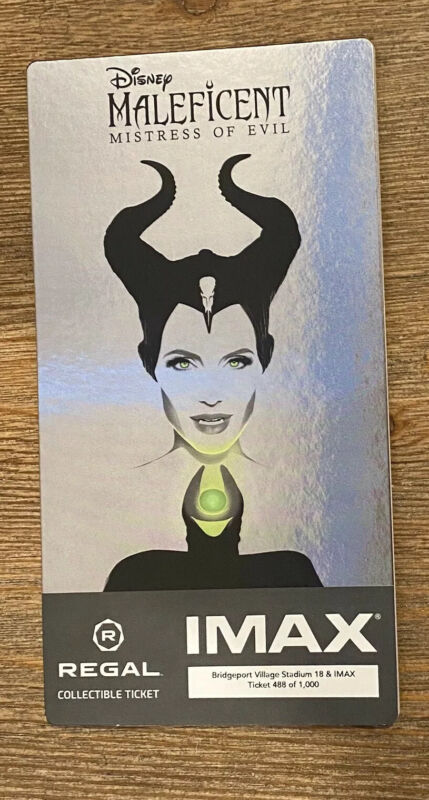 Collectors Movie Ticket~Maleficent Mistress Of Evil~Multiples Available~ Disney