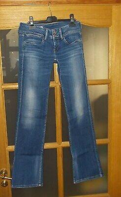 Jeans femme original PEPE JEANS LONDON - taille 29 / 32 - bleu - très bon état