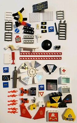 LOT – Vintage 1980s LEGO Special Space solar and More sets NO Bricks Flames.