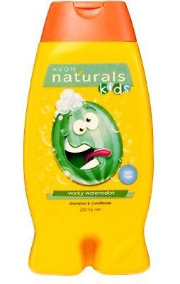 Avon Naturals Kids Wacky Watermelon BODY WASH & BUBBLE BATH  8.4 fl oz