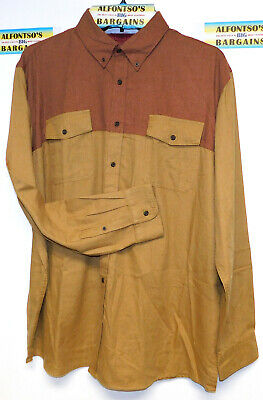 New Mens Foundry Long Sleeve Flannel Shirts Big & Tall $16.99 Free Shipping Big Tall Flannel Shirts