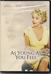 As Young As You Feel (DVD, 2004, Marilyn Monroe Diamond Collection)