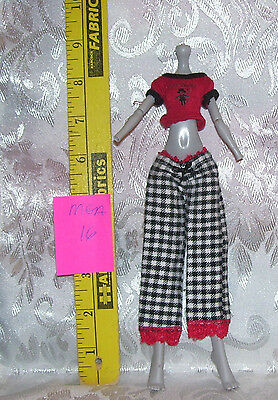 MGA CLOTHES OUTFIT SET FOR MONSTER HIGH GIRL DOLL LOT #16 PANTS & SHIRT (Monster High Outfits For Girls)