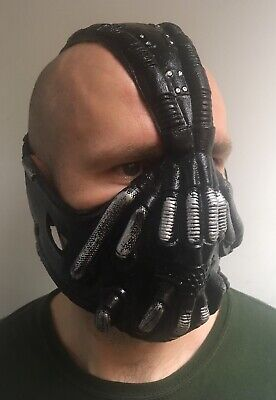 Bane Mask Halloween Fancy Dress Costume Cosplay Batman Adults Full Head