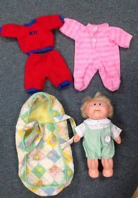 Vintage Cabbage Patch Kids Boy Doll Outfit Carrier *****