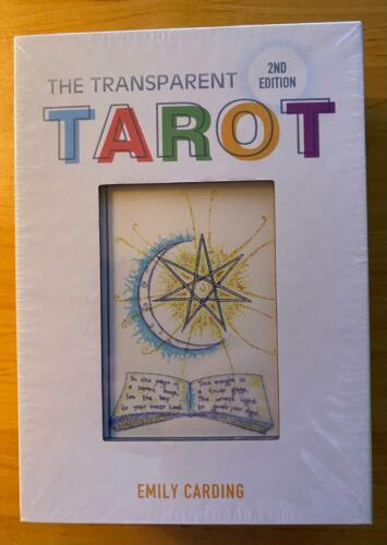 The TRANSPARENT TAROT 2nd Edition NEW SEALED Emily Carding DIVINATION SYSTEM