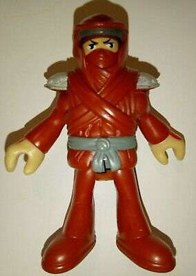 Fisher-Price Imaginext Red Ninja Very Rare with Hood