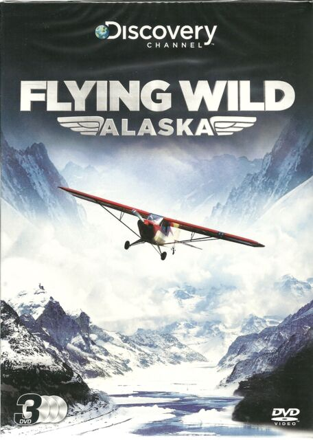 FLYING WILD ALASKA SERIES 1 - DISCOVERY CHANNEL 3 DVD BOX SET