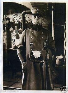 ERICH-VON-STROHEIM-Signed-Photograph-Film-Star-Actor