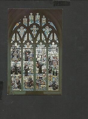 Jarrold Colour Postcard Benedictine Window Norwich Cathedral-Chapel of Our Lady