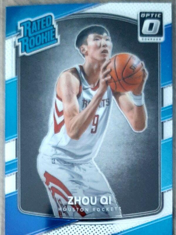 2017-18 Panini Essentials baloncesto Essential Rookies Zhou Qi