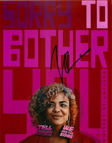 Tessa Thompson Signed 'Sorry To Bother You' 8x10 Photo Proof COA Valkyrie