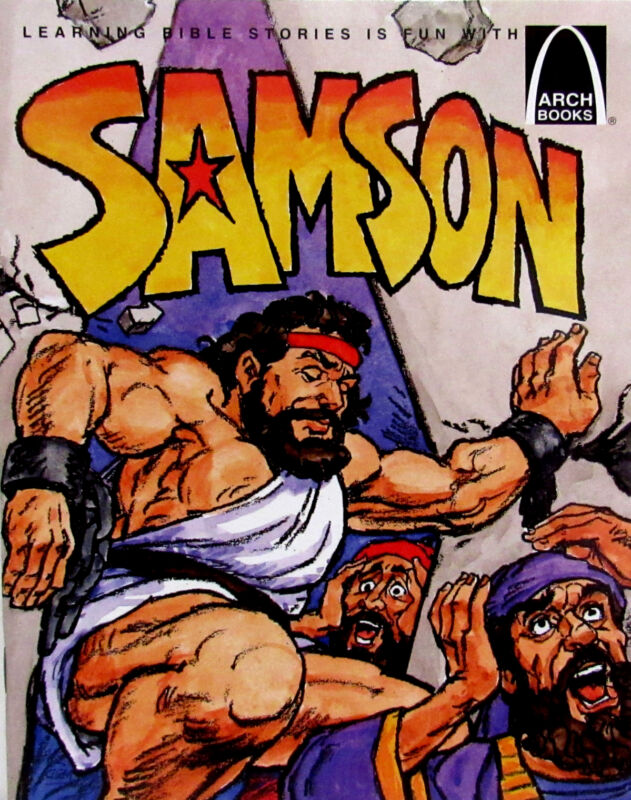 ARCH BOOKS Samson (pb) by Concordia Publishing House NEW