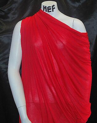 Micro Modal100% Knit Fabric Jersey Ecofriendly Super Soft and Silky Lipstick Red Eco Friendly Lipstick