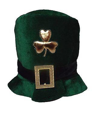 St Patricks-Tag Irisch Hut Grün Kobold Kostüm Zylinderhut Kleeblatt - St Patricks Tag Kostüm