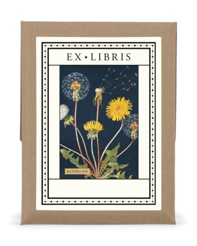 Cavallini & Co. Dandelion Ex Libris Bookplate Set