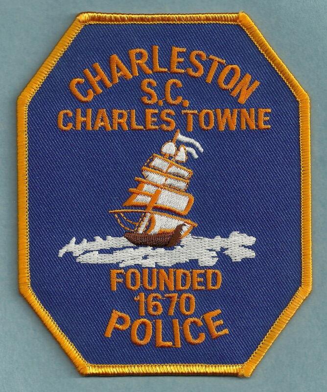 CHARLESTON SOUTH CAROLINA POLICE SHOULDER PATCH