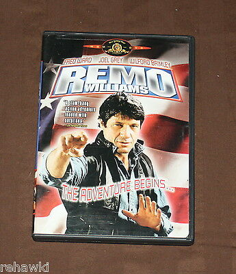 Remo Williams - The Adventure Begins (DVD) RARE FRED WARD