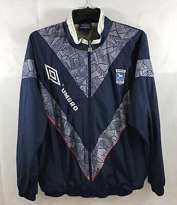 Ipswich Town Football (Ipswich Town Woven Football Jacket 1992/94 Adults XL)