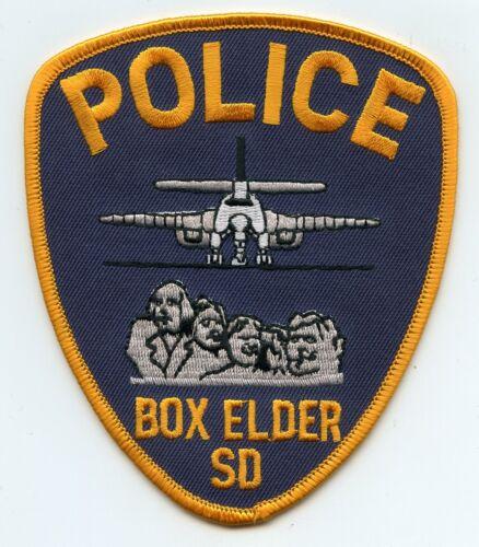 BOX ELDER SOUTH DAKOTA SD POLICE PATCH